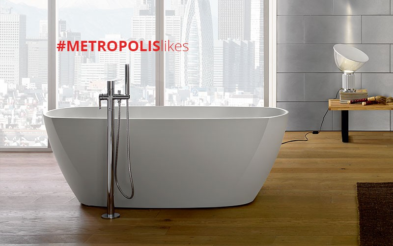 GRAFF Wins #MetropolisLikes Award for Stunning Tephi Bathtub