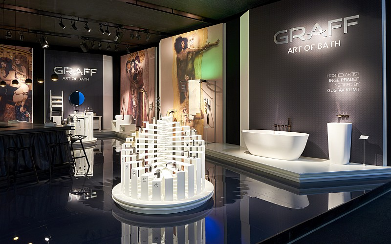GRAFF display at Salone
