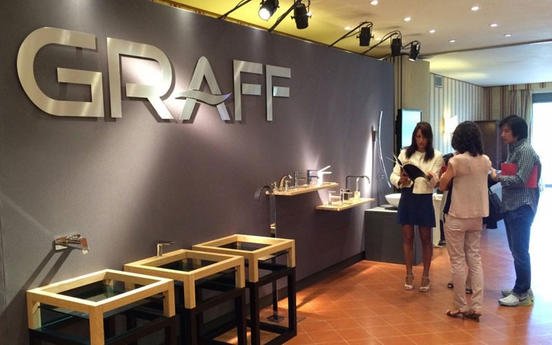 GRAFF Faucets Hosts Global Specifiers in Italy