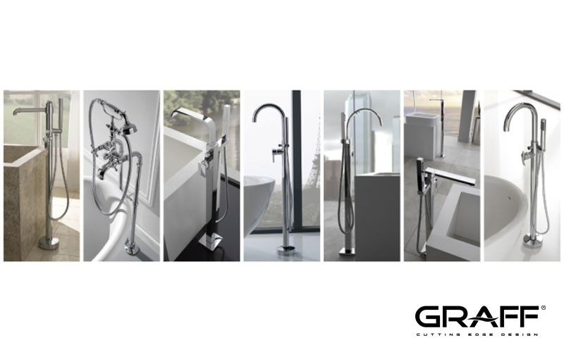 GRAFF Releases Seven Floor-Mounted Tub Fillers