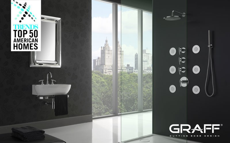graff featured in trends top 50 best bathrooms press