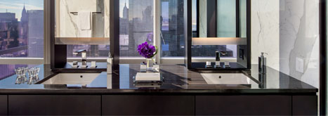NYC Luxury One57 Residences Furnished with Targa and Solar Collections