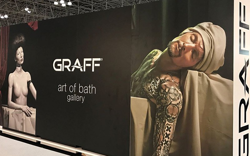 GRAFF Art of Bath Gallery at Boutique Design New York 2016