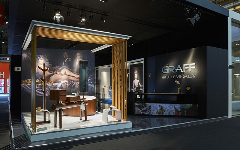 GRAFF Presented an Iconic Art Gallery at Salone del Mobile 2016