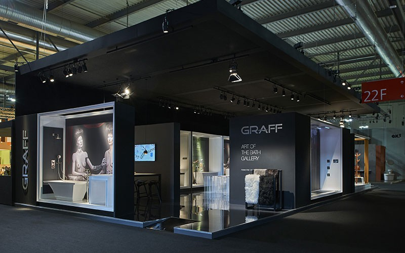 Salone del mobile 2016 graff presents an iconic art - Fiera del mobile bologna ...