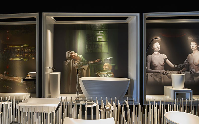 GRAFF Art of the Bath Gallery at Salone del Mobile
