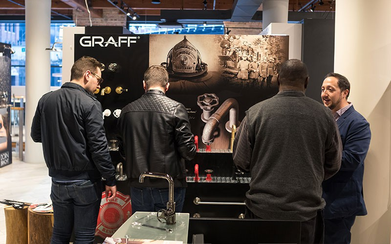GRAFF Partners with Studio 41 and Luxe Interiors + Design for Exclusive Event