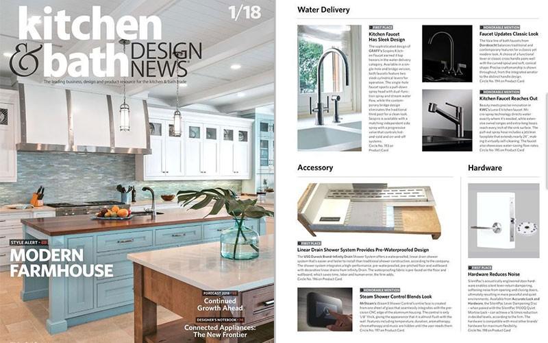 GRAFF\'s Sleek Kitchen Faucet Design l Kitchen & Bath Design ...