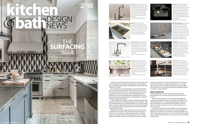 GRAFF\'s Corsica faucet l Kitchen & Bath Design News :: Media ...