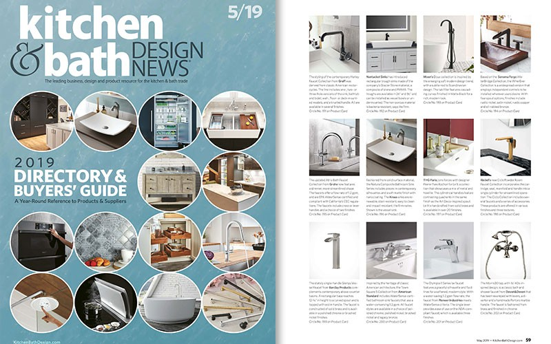 Contemporary Harley Faucet l Kitchen & Bath Design News ...