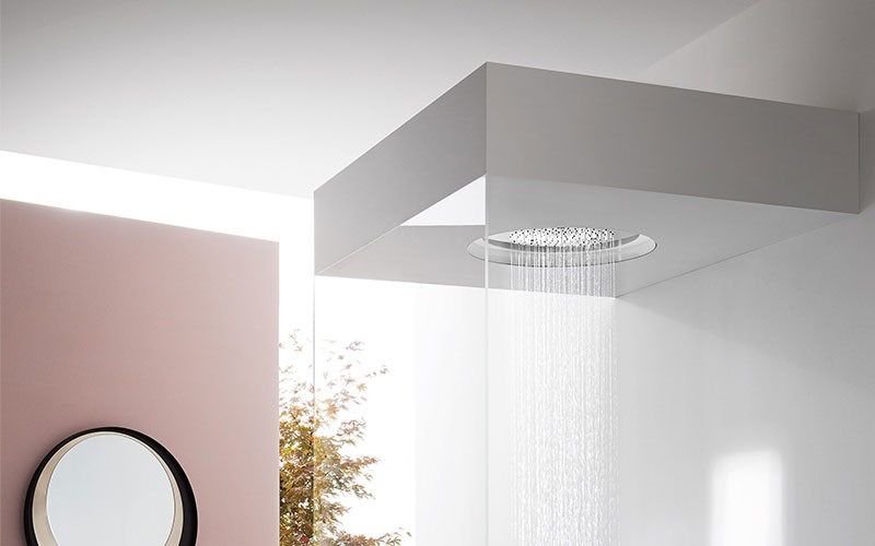 Ceiling Mounted Shower Heads l Better Interiors