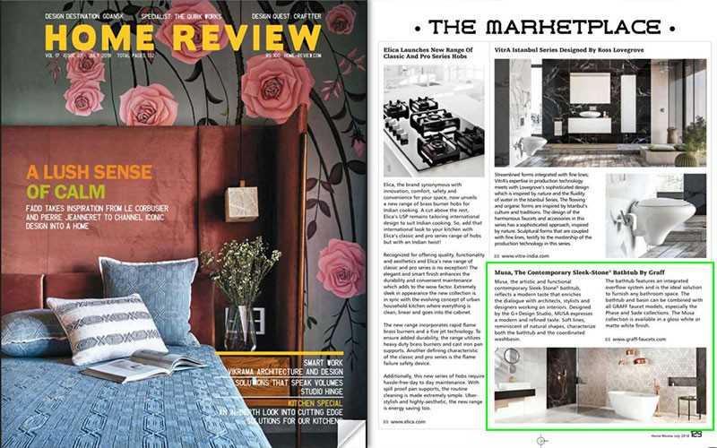 Musa Collection From Graff L Home Review Media Spotlights