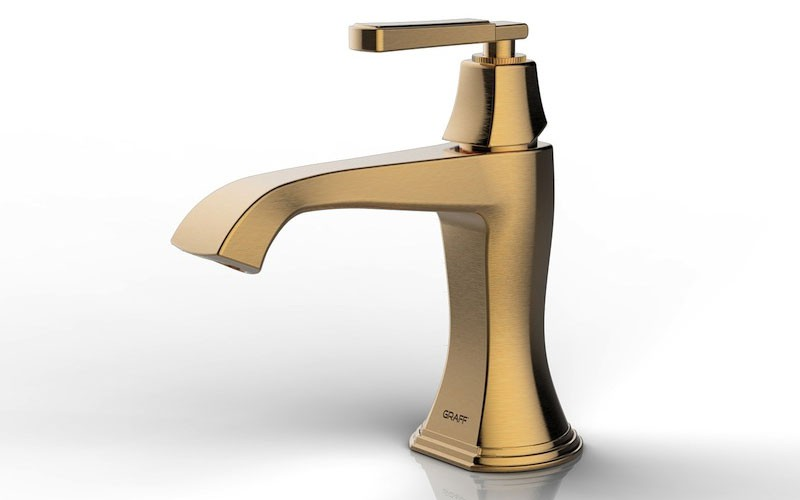 New 24K Brushed Gold Finish from GRAFF l Concept Bain