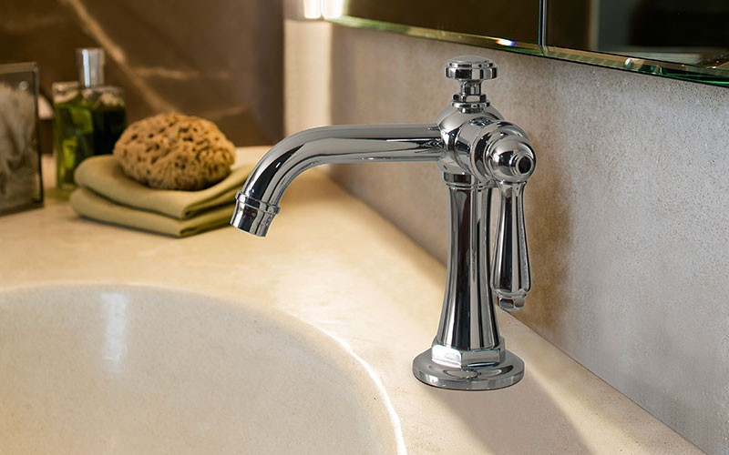 Camden Faucet Collection by GRAFF l Hotel Management
