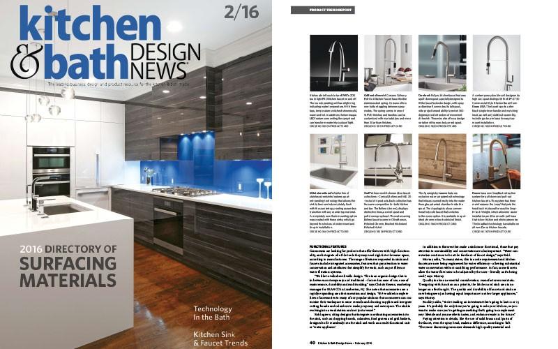 New Kitchen Faucets From Graff L Kitchen Bath Design