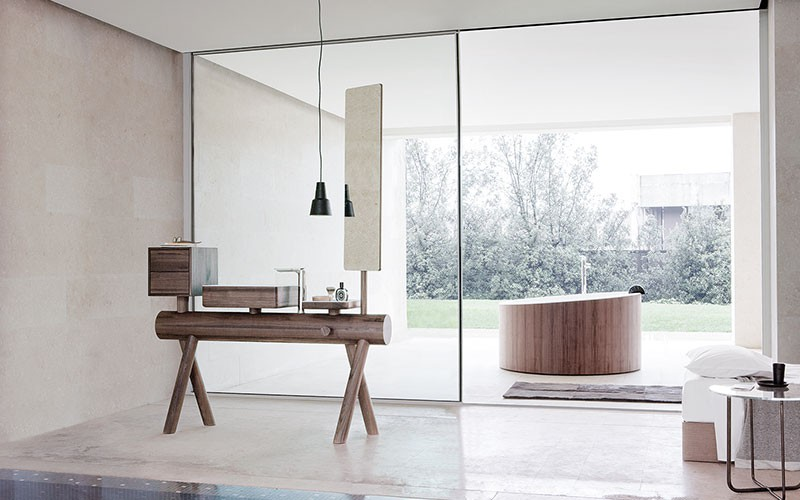 Dressage Bathroom Furniture from GRAFF l Materials and Products