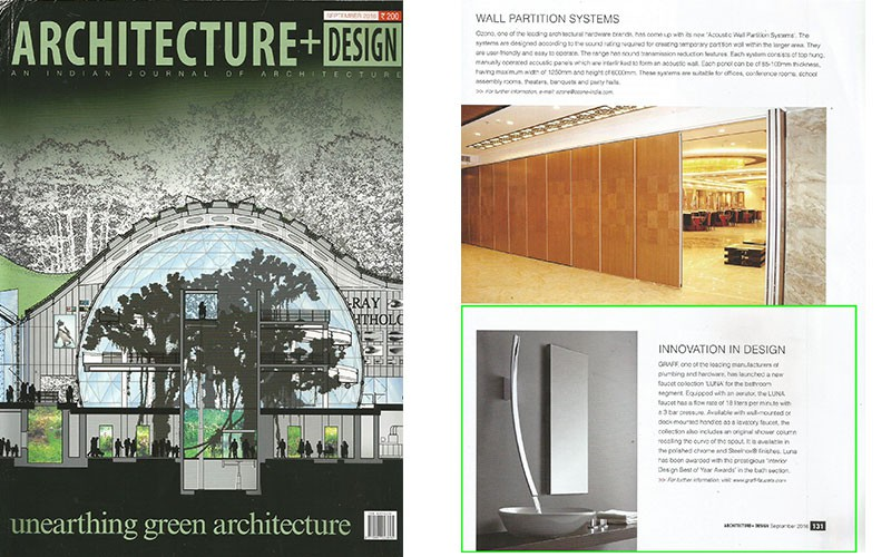 GRAFF Luna l Architecture and Design Magazine