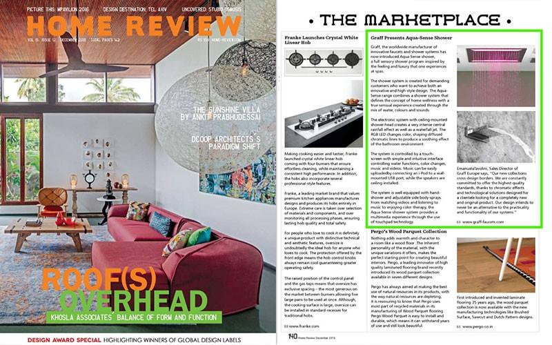 GRAFF Presents Aqua Sense Shower L Home Review