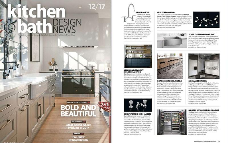GRAFF\'s Sospiro Bridge Faucet l Kitchen & Bath Design News ...