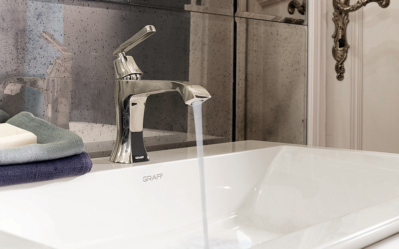 GRAFF Finezza DUE washbasin mixer