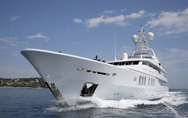 GRAFF Boards the Mega Yacht Talisman C1