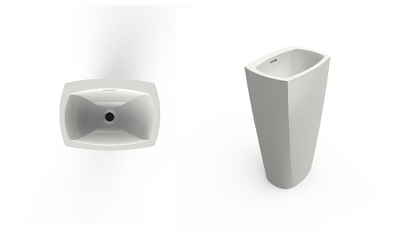 TEPHI freestanding washbasin