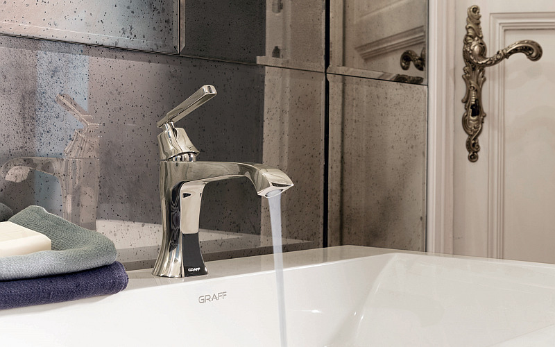 FINEZZA Debuts as the New Faucet Collection by GRAFF