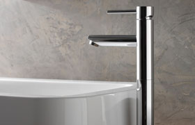 GRAFF Adds Unique Scalable M.E. 25 Faucet Line to its Modern Collection