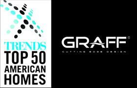 GRAFF Featured in Trends Top 50 Best Bathrooms