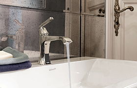 FINEZZA is the new faucet collection by GRAFF.