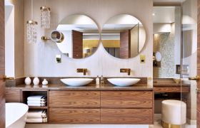 GRAFF completes penthouse bathroom suite on London's famed Thames River Bank