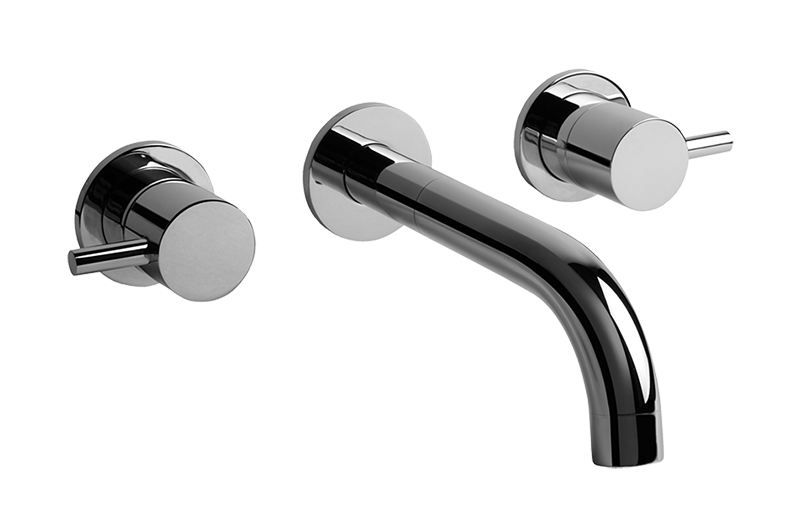 M E Wall Mounted Lavatory Faucet Bathroom Graff
