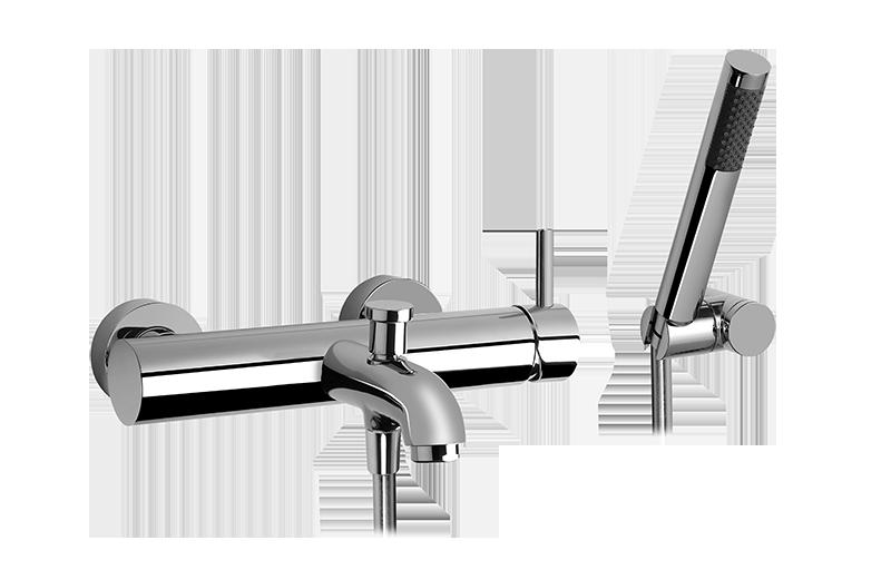 wallmounted bath  shower mixer with hand shower set