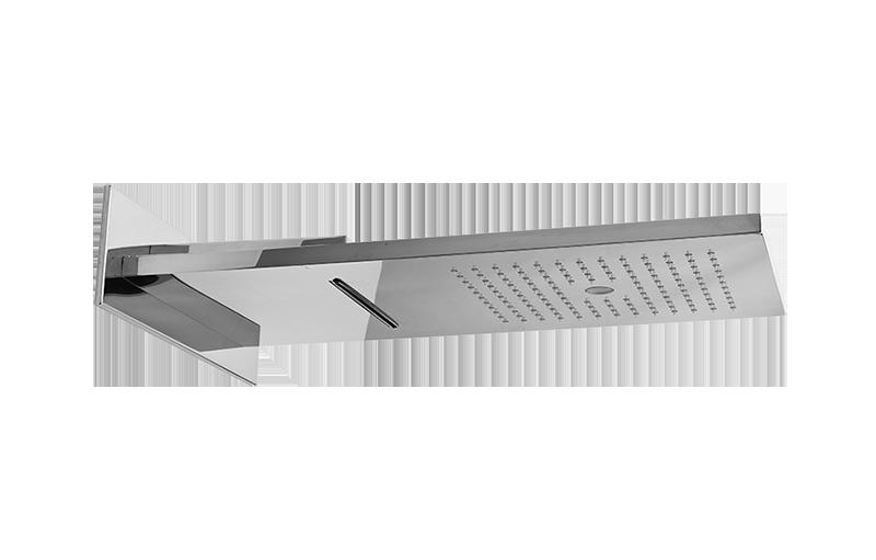 multifunktionsduschkopf wandmontage regen led licht. Black Bedroom Furniture Sets. Home Design Ideas