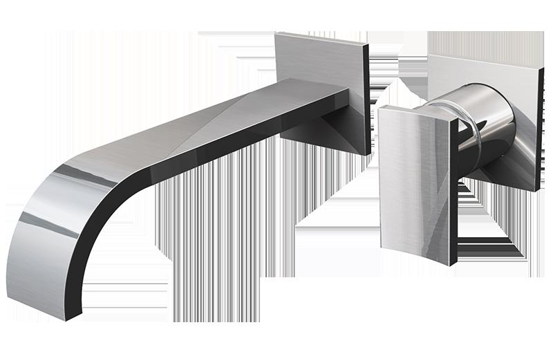 Sade Wall Mounted Lavatory Faucet
