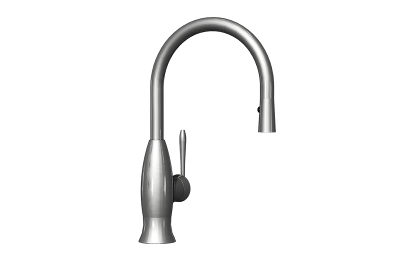 Bollero pull down kitchen faucet kitchen graff for Kitchen faucet recommendations