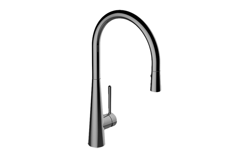 conical pull down kitchen faucet kitchen graff graff g 4235 lm7 sn canterbury kitchen faucet with side