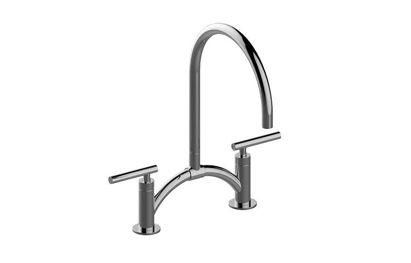 Sospiro Contemporary Bridge Kitchen Faucet Kitchen Graff