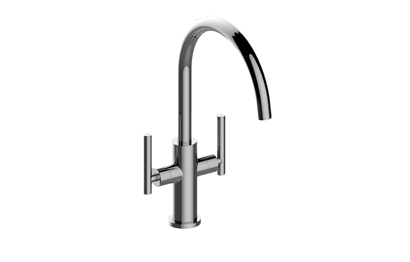 Sospiro Contemporary Two Handle Single Hole Bar Prep Faucet Kitchen Graff