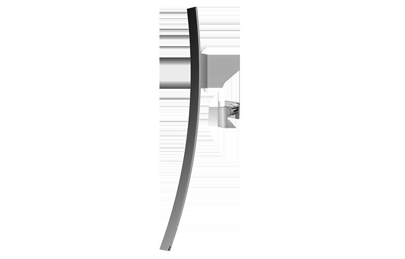 luna wall mounted lavatory vessel filler w single control handle bathroom graff. Black Bedroom Furniture Sets. Home Design Ideas