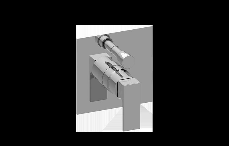 Pressure Balancing Valve Trim With Handle  U0026 Diverter    Shower    Graff