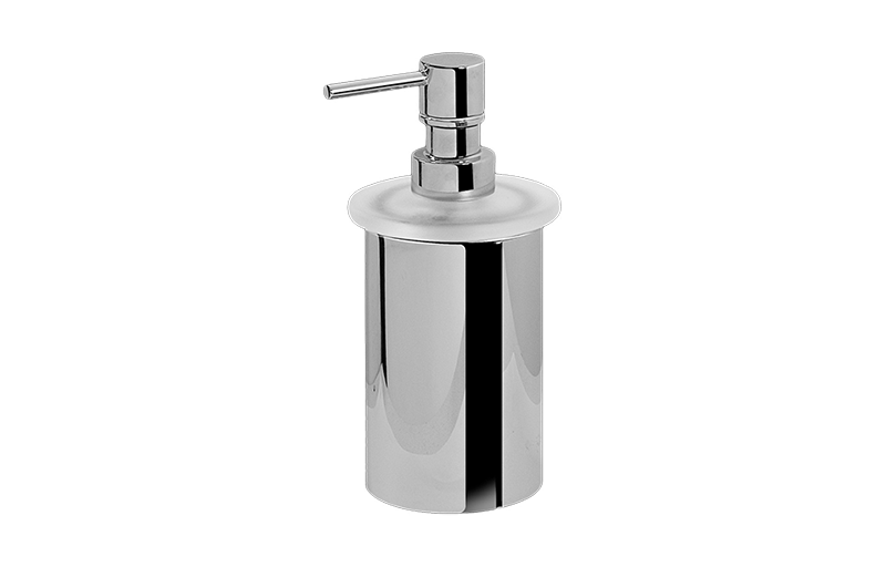free standing soap dispenser bathroom graff