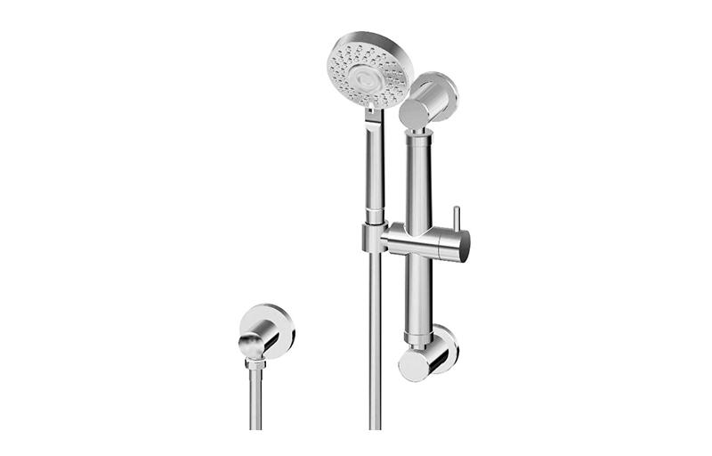 """Multi-Function Handshower w/12"""" Grab Bar :: Bathroom :: GRAFF"""