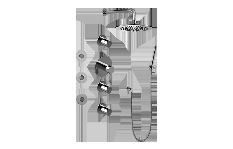 Full Thermostatic Shower System    Shower    Graff