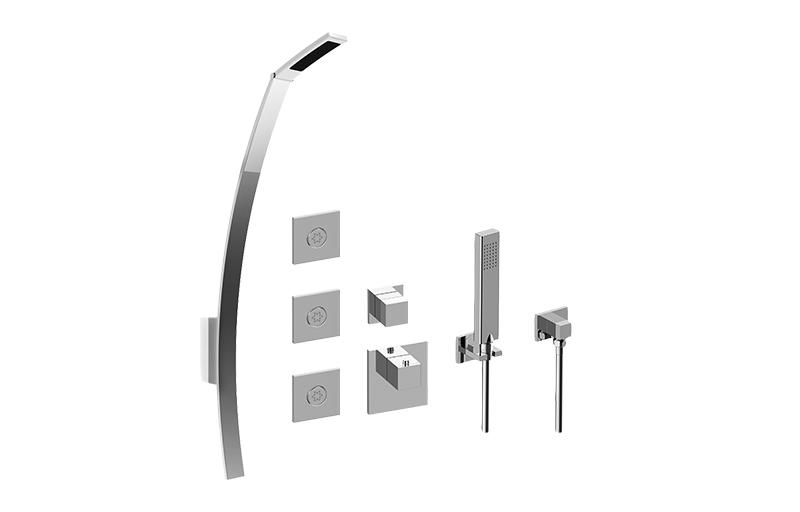 Luna M-Series Full Thermostatic Shower System