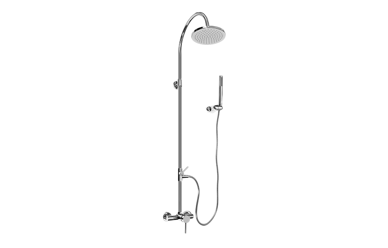 exposed shower system. Exposed Shower System