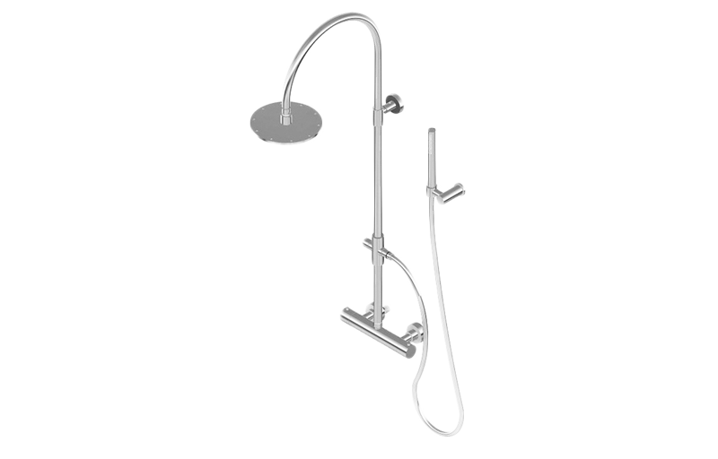 Exposed Thermostatic Shower System (Rough & Trim) :: Shower :: GRAFF