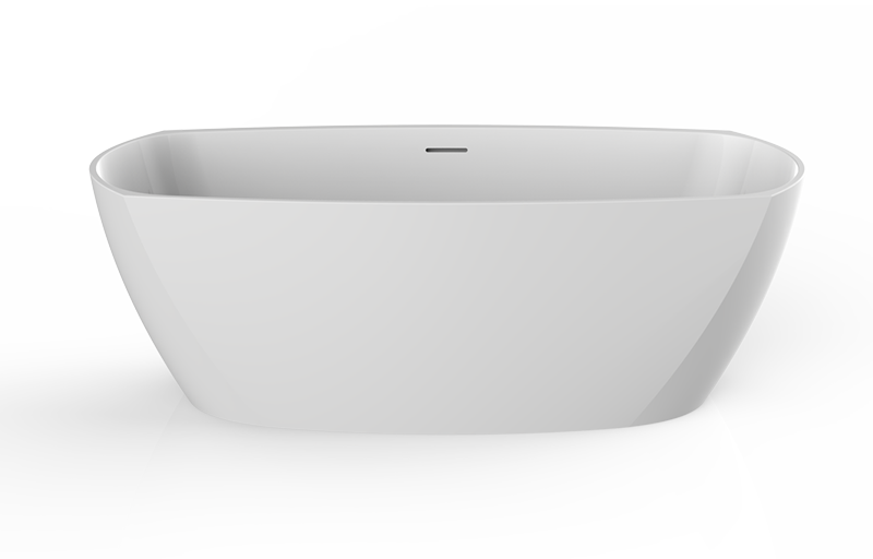 Tephi Bathtub in Sleek-Stone®