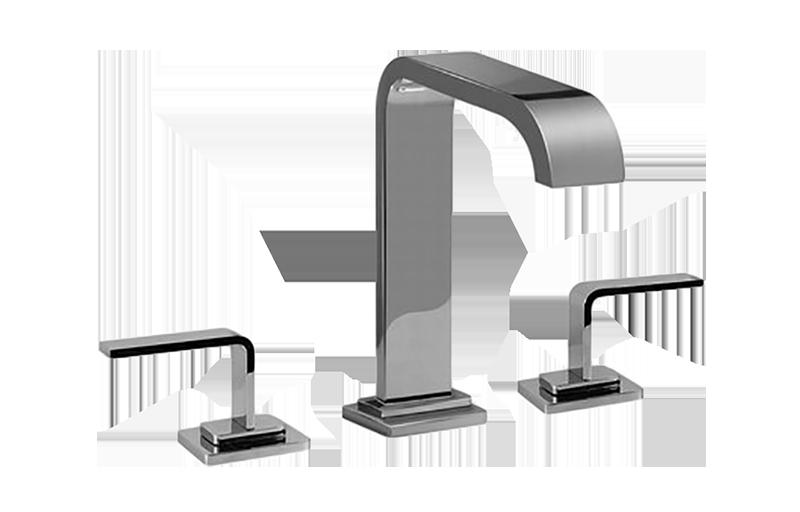 immersion widespread lavatory faucet bathroom graff