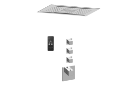 Aqua-Sense M-Series Thermostatic Shower System - Shower